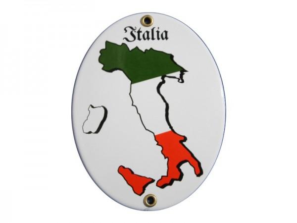 Italia Emaille Schild Nr. 2007