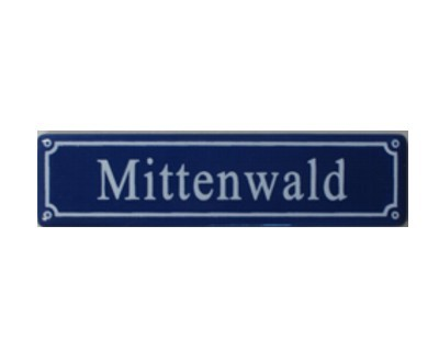 "Magnet ""Mittenwald"" Emaille Nr. 2004"