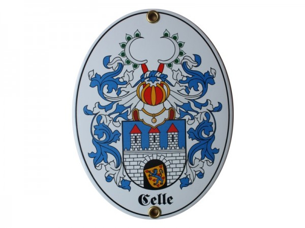 Celle Emaille Schild Nr. 1734