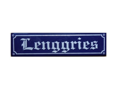 "Magnet ""Lenggries"" Emaille Nr. 1923"