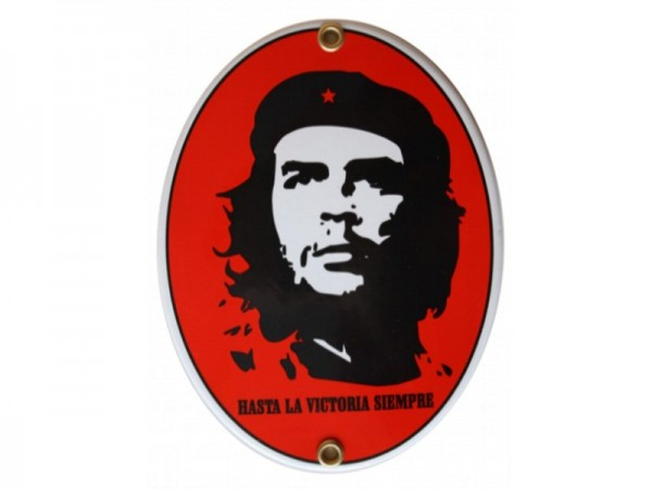 Che Guevara Emaille Schild (ohne Holzrahmen) Nr. 1719