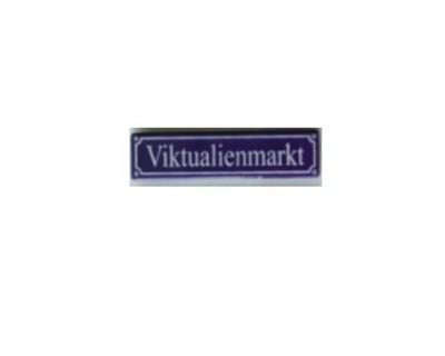 Magnet Viktualienmarkt Emaille Nr. 816