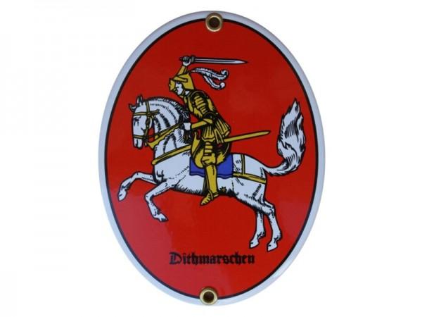Dithmarschen Emaille Schild Nr. 1704