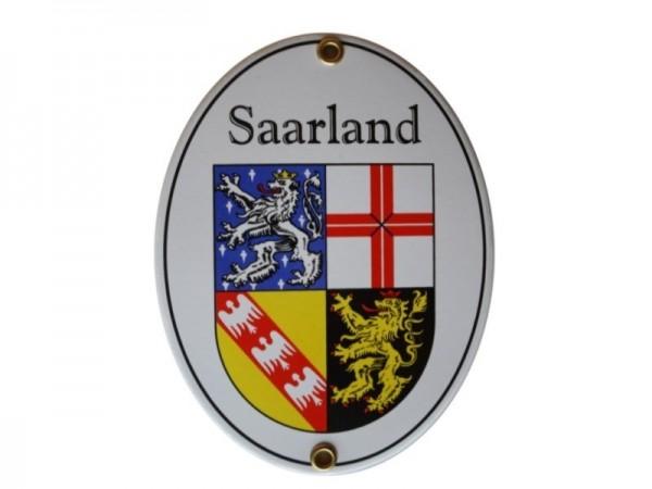 Saarland Emaille Schild Nr. 2066A