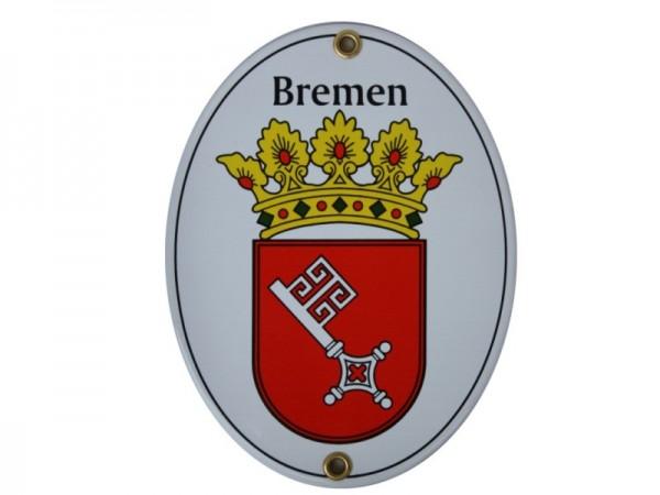 Bremen Emaille Schild Nr. 1702