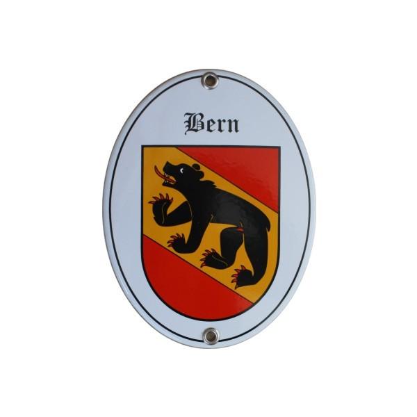 Kanton Bern Emailschild Nr. 7706