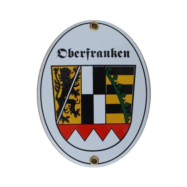 Oberfranken Emaille Schild Nr. 7743