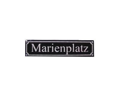 """Magnet """"Marienplatz"""" Emaille Nr. 813"""