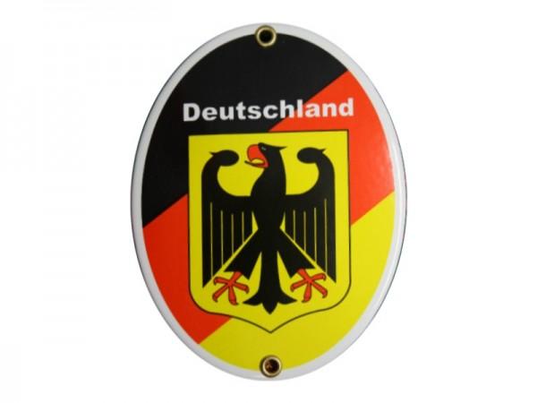 Deutschland Emaille Schild Nr. 679