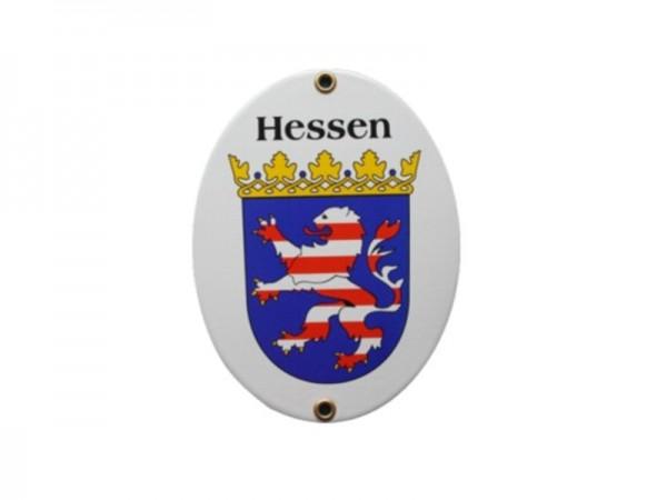 Hessen Emaille Schild Nr. 489