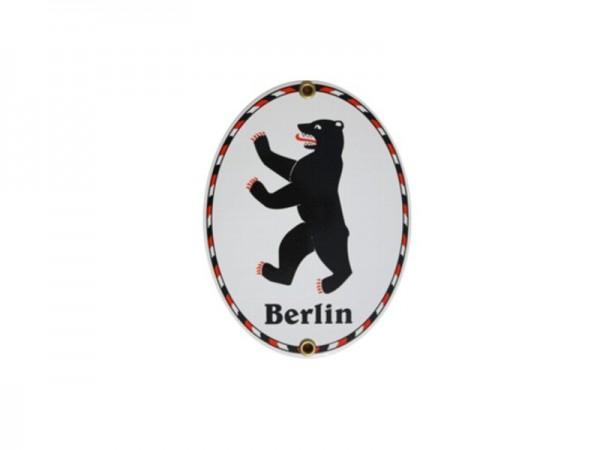 Berlin Bär Emaille Schild Nr. 539