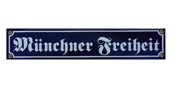Münchner Freiheit Schild Nr. 2987