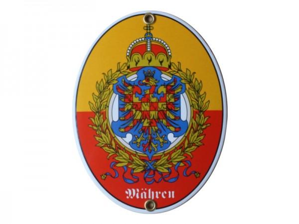 Mähren Emaille Schild Nr. 1740