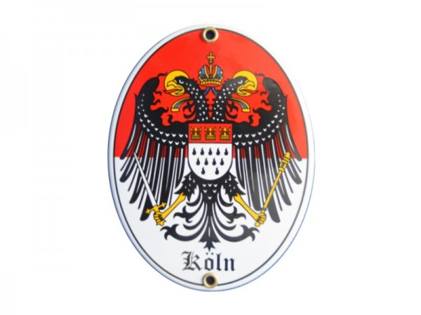 Köln Emaille Schild Nr. 1736
