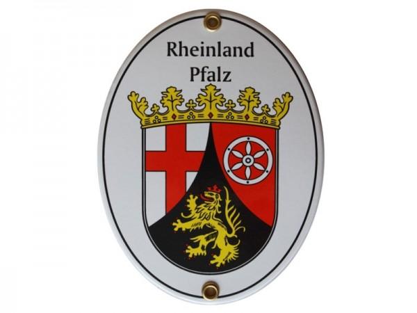 Rheinland-Pfalz Emaille Schild Nr. 2077