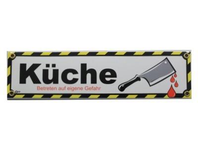 Küche Emaille Schild Nr.1713