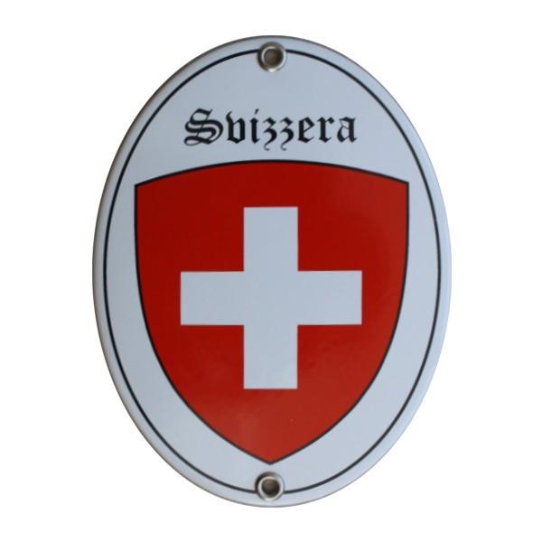 Emailschild Svizzera Nr. 7728