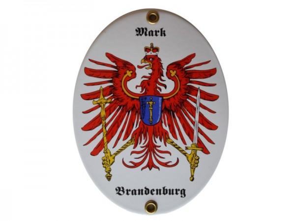 Mark Brandenburg Emaille Schild Nr. 2982