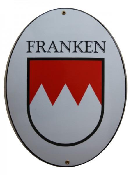 Franken Emaille Schild Groß Nr. 2282