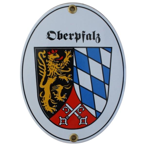 Oberpfalz Emaille Schild Nr. 7746