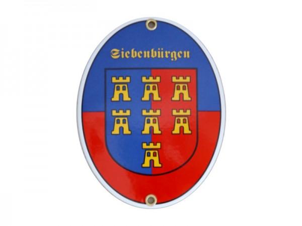 Siebenbürgen Emaille Schild (ohne Holzrahmen) Nr. 1739