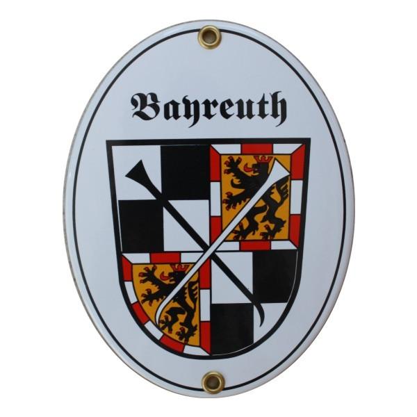 Bayreuth Emaille Schild Nr. 7749