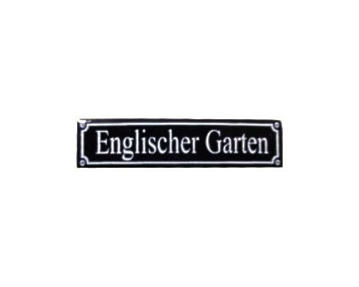 Magnet Englischer Garten Emaille Nr. 814