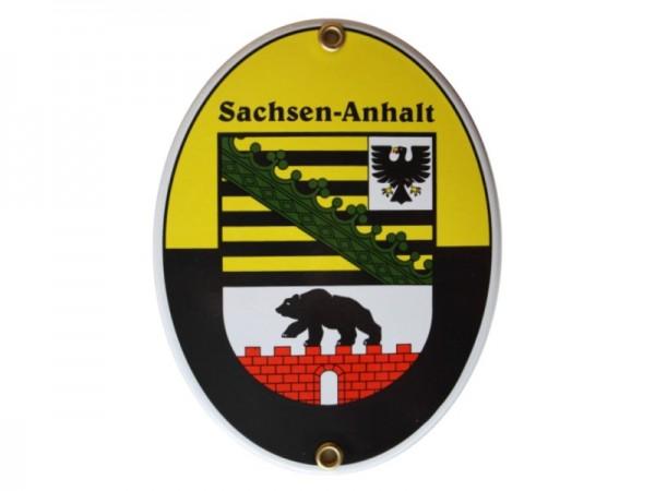 Sachsen-Anhalt Emaille Schild Nr. 2073A