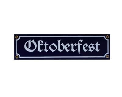 Oktoberfest Emaille Schild Nr. 1712