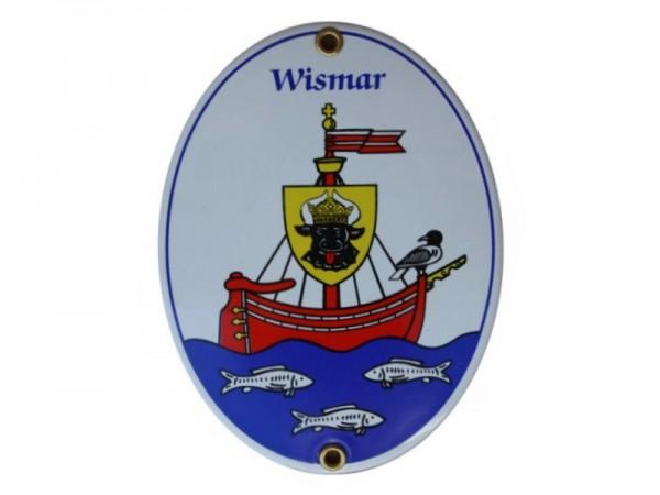 Wismar Emaille Schild Nr. 1701