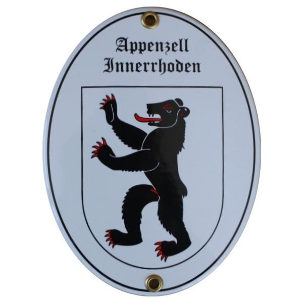 Kanton Appenzell Innerrhoden Emailschild Nr. 7703