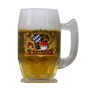 Magnet Bierkrug mit Bayerischem Wappen Nr. 1859