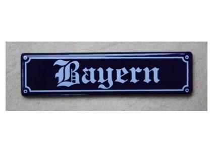 "Magnet ""Bayern"" Emaille Nr. 1275"