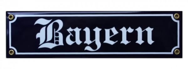 Bayern Emaille Straßenschild Nr. 1274